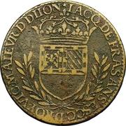 Token - États de Bourgogne (Maire de Dijon Jacques de Frasans; 1er type) – reverse