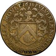 Token - États de Bourgogne (Maire de Dijon Jean Tisserand; 2ème type) – obverse