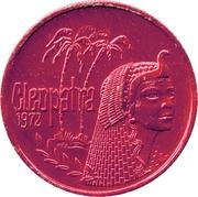 Mardi Gras Token - Cleopatra – reverse