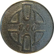 Token (Insect and Bird) – reverse