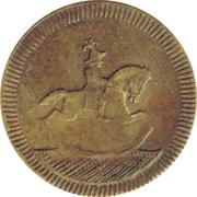 Spiel Marke (Horse and Rider) – obverse