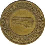 1 Fare - Capital Transit (Juneau, Alaska) – obverse
