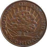 Token - County of Oakland (Oakland, Michigan) – obverse