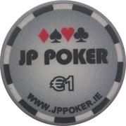 1 Euro - JP Poker – obverse