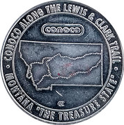 Token - Conoco Along The Lewis And Clark Trail (Bear) – obverse