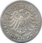 Token - Silber-Batzen (Reutlingen) – reverse