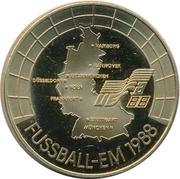 Token - Fussball-EM 1988 – reverse