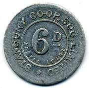 6 Pence - Stanbury CSL (Yorkshire) – obverse