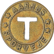 Token - Aarhus Sporveje – reverse