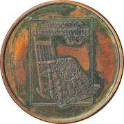 Token - Tennessee Homecoming'86 (Davy Crockett Bicentennial Celebration) – obverse