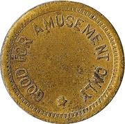 Token - No Cash Value (Diamond; Brass; 18 mm) – obverse
