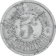 5 Centimes - Galeries Modernes, G.Peyrière (Réalmont) – obverse