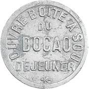 Token - Docks Méridionaux Béziers (Hérault) – reverse