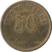 50 Pfennig (Werth Marke) – obverse