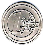 Shopping Cart Token - Omya (1 Euro) – reverse