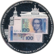 Token - 100 Deutsche Mark – obverse