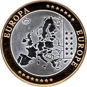 Token - European Currency (Austria) – reverse