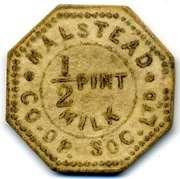 ½ Pint Milk - Halstead CSL (Essex) – obverse