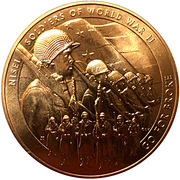 Medal - The Nisei Soldiers of World War II – obverse
