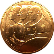 Medal - The New Frontier – obverse