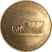 Token - Carleton (Nebraska 100th Anniversary) – obverse