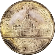 Official Medal - World's Columbian Exposition 1892-1893 – obverse