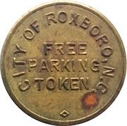 Parking Token - Free Parking (Roxboro, North Carolina) – obverse