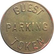 Guest Parking Token - Hotel Wilkes (North Wilkesboro, North Carolina) – reverse