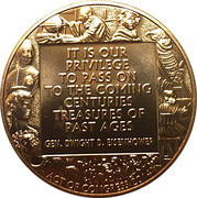 Medal - Monuments Men – reverse