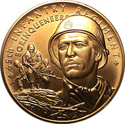Medal - U.S. Army 65th Infantry Regiment – obverse