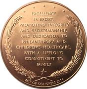Medal - Jack Nicklaus – reverse