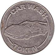 1 Dollar Car Wash Token - Wash-Vacuum-Vend – obverse