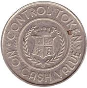 Carwash Control Token – reverse