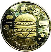 Token - 1 Big Mac (Commemorative 50 years; 2008-2018) – obverse
