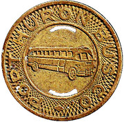 1 Adult Fare - Port Huron Bus Co. (Port Huron, Michigan) – obverse