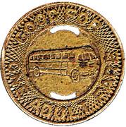 1 Adult Fare - Port Huron Bus Co. (Port Huron, Michigan) – reverse