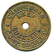 Half Quartern - Chippenham CS – obverse