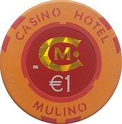 1 Euro - Casino Hotel Mulino (Buje) – reverse