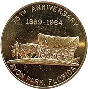 ½ Dollar - 75th Anniversary Avon Park (Avon Park, Florida) – obverse