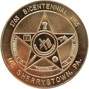 50 Cents - Bicentennial McSherrystown (McSherrystown, Pennsylvania) – obverse