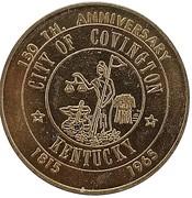 50 Cents - Covington Sesquicentennial (Covington, Kentucky) – obverse