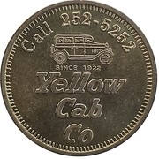 1 Dollar - Yellow Cab Co – obverse