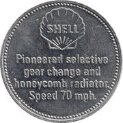 Token - Shell (Mercedes 60 H.P. 1903) – reverse