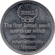 Token - Shell (M.G. Midget 1930) – reverse