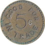 5 Cents - E.M – reverse