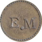 5 Cents - E.M – obverse