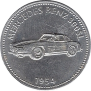 Token - Shell (Mercedes Benz 300SL 1954) – obverse