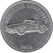 Token - Shell (Mercedes Benz 300SL 1954) – obverse