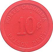 10 Cents - North Carolina Prison – obverse