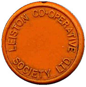 Milk Token - Leiston CSL (Suffolk) – obverse